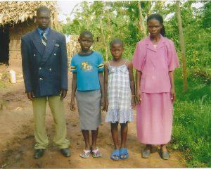 John Wesonga & Family